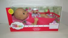 Fisher Price Baby So New Doll Little Mommy pink blue floral strawberry outfit