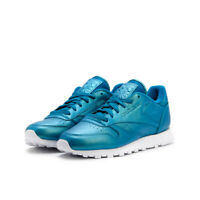 Women's Reebok Classic Leather Pearlized Trainers BD5212 - UK 7 / EU 40.5