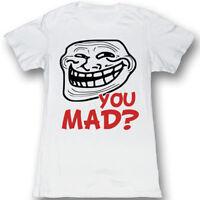 Juniors White Comedy TV Show The Big Bang Theory Friendship Algorithm T-shirt