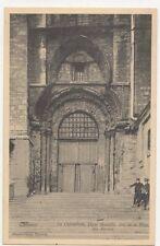 Tournai La Cathedrale Porte Mantille Belgium Vintage Postcard 230a