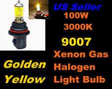 Golden Yellow Xenon 100w Bulb- Ford 92-96 E-350 Econiline High/Low Beam 9007/HB5