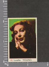 Loretta Young - card #18