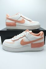 Nike Air Force 1 Shadow White Coral Pink Quartz CJ1641-101 Womens Size 6-9.5