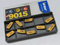 9 pcs ISCAR GIP 5.00E-0.60 IC9015 Carbide Inserts 06403243