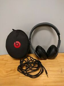 Beats By Dr Dre Solo 2 Wireless Headphones Over The Ear Black Red