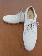 GH Bass & Co. Men's Shoes Size 13 M Wingtip Oxford Light Beige Suede Lace Up EUC