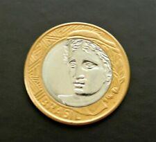 2003 Brazil Real - Fantastic Bi-Metallic Coin