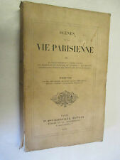 """Balzac """"Scènes de la vie Parisienne"""" T 3 /Houssiaux,éditeur 1874"""