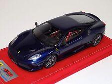 1/18 Looksmart Ferrari F430 Scuderia Blue tdf no stripe / Titanium Alcantara