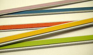 Tapetenleisten, 17 mm breit, 2 m lang, farbig, neu
