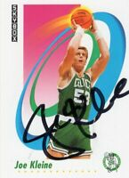 Joe Kleine Boston Celtics 1991 Skybox Autographed Basketball Card