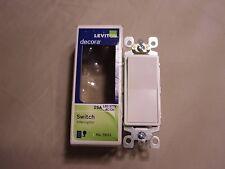 Leviton Decora Switch 15A Interruptor #5601 White