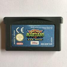 Butt Ugly Martians B.K.M Battles - Nintendo GBA Game Boy Advance SP / DS GENUINE