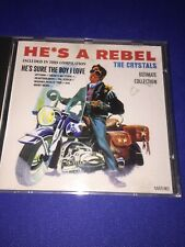 The Crystal: He's A Rebel: CD Album: Free Secure P&P: NOT