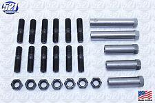 Mopar Exhaust Manifold Hardware Kit Studs Sleeve Nuts 67 440HP Coronet RT GTX