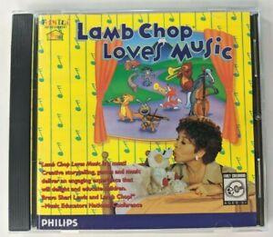 Lamb Chop Loves Music CD-ROM 1995 Shari Lewis