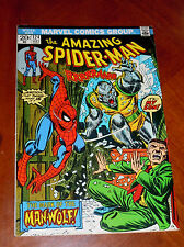 AMAZING SPIDER-MAN #124 (1973) F-VF (7.0) cond. 1st App. MAN WOLF  HIGHER GRADE!