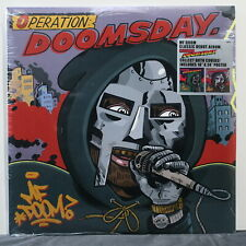 MF DOOM 'Operation: Doomsday' (Metal Face Cover) Vinyl 2LP + Poster NEW/SEALED