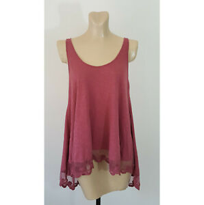 Angie Lace Top L Anthropologie
