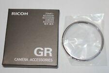 Genuine Ricoh GR III/GR3 Original Ring (RING CAP GN-1) Gray