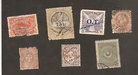 ++ WORLD Good Stamps ALL DAMAGED / WITH DEFECTS  Lot 2
