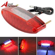 12V Universal Motorcycle 11 LED Tail Brake Stop Running License Plate Light Lamp