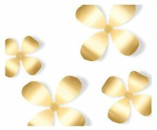 Umbra METAL BRASS WALLFLOWER wall decor 9 flowers/3 sizes Flower 470788-221