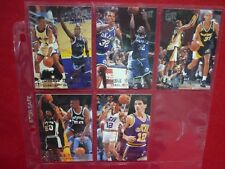 FLEER ULTRA 1994-95 DOUBLE TROUBLE INSERTS LOT of 5 MASHBURN HARDAWAY ROBINSON