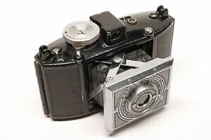 Early Agfa Karat 35mm film camera (# 2), Art Deco style; functional!