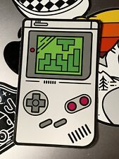 Retro Gameboy Sticker, ideal for customising your iPhone, laptop or Flask...