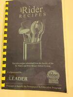 2007 Rider Recipes St. Marys & Holy Rosary School System Ohio