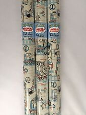 6M Thomas the Tank Engine WRAPPING PAPER by HALLMARK 3 X 2M ROLLS - BIRTHDAY