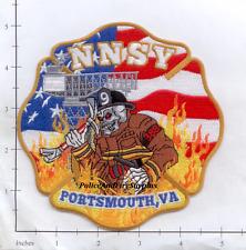Virginia - Portsmouth Newport News Ship Yard VA Fire Dept Patch