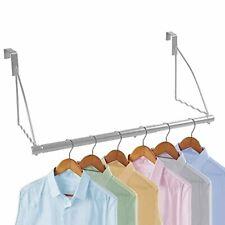 Over The Door Closet Valet- Over The Door Clothes Organizer Rack and Door Hanger