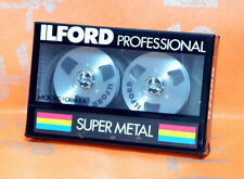 ILFORD Super Metal SM 46 PROFESSIONAL Reel Metal Tape Cassette  SEALED! RARE!
