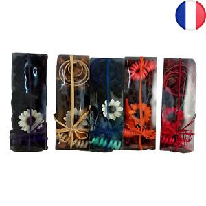 Pot pourri 100 Grammes avec fleur séchées Parfum floral Couleur au choix