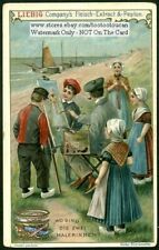 Child's Game - Find The Hidden Object c1899 Trade Ad Card