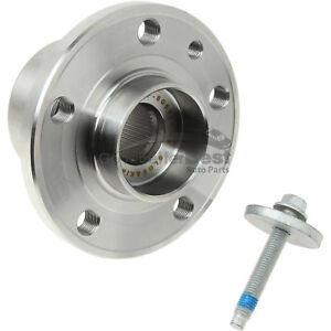 One New FAG US Wheel Bearing and Hub Assembly Front 713660460 for Volvo