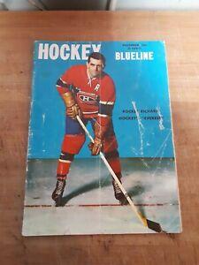 Vintage Hockey Blueline Magazine NHL 1956 Maurice Richard Rare