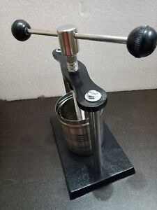 Tincture Press Lab Analytical Instruments ISO certified free ship