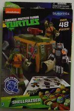 NEW Teenage Mutant Ninja Turtles Papercraft Shellraiser Vehicle + Figures Pack