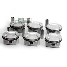 STD 6Pcs Pistons & Rings Φ 85mm MAHLE for BMW E60 E87 F25 130i 530i N52B30 3.0L