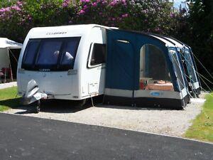 Kampa Rally Club 390 Poled Caravan Awning
