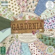 Premium Craft Cardstock First Edition 8x8 Designer Paper Pad - Gardenia