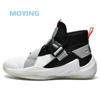 New Trend Men's Basketball Shoes High Top Retro Superstar Basketball Ankle Boots