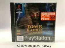 TOMB RAIDER CHRONICLES LA LEGGENDA DI LARA CROFT - PS1 - NUOVO SIGILLATO PAL ITA