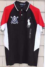 NEW- Polo Ralph Lauren Men's Blackwatch Crest Polo/Rugby Shirt Size L