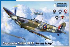 SH Supermarine Spitfire Mk.VC 'Overseas Jockeys' 48195-1/48