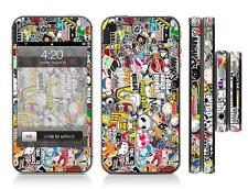 STICKER BOMB 8 | Full Sticker Skin Wrap Cover Sticker Kit case | For Iphone 4 4s