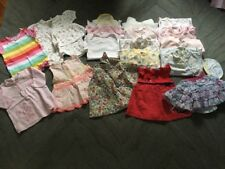 Baby Girl Clothes Bundle 0-3 Months Dresses, Babygrows T-Shirts Jeans  (B33)